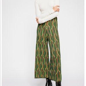 Free People- Alina A-line Pull on Pants
